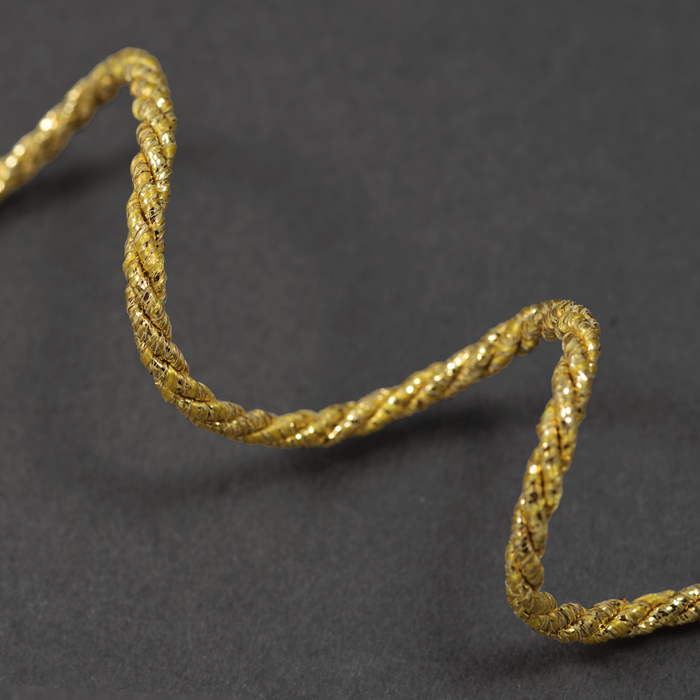 how to make twisted cord trim
