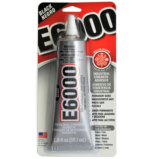 Industrial Strength Epoxy : E black color industrial strength adhesive by each