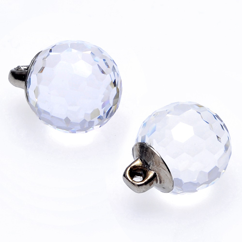 6mm swarovski crystal 4869 fireball fancy button with shank - Swarovski crystal buttons ...