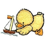 Ducky Iron-On Applique Patch by PC, PA-IA-T02587