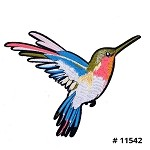 Bird Embroidered Iron-On Applique Patch by 1 PC, TR-11542