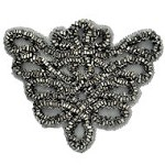 Beaded Applique Patch by PC, FF-V777