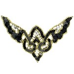 Sequin Beaded Applique Patch by PC, FF-V-178