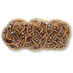 Beaded Applique Patch by PC, TR-10495