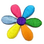 Flower Iron-on Applique Patch by PC, PA-IA-T03853