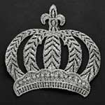Metallic Crown Applique Patch by PC, LP-CROWN