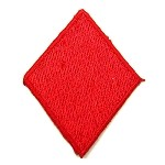 Diamond Iron-on Patch Applique by PC, 2 Colors, PA-IA-T06467