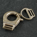 Metal snap hooks clasps by Set, SP-2408