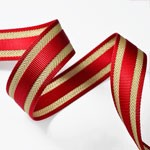 Webbing band ribbon trim, waist belt by Yard, TR-11266