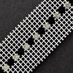 SS 20 Machine-cut Rhinestone Banding Trim by Yard, RBD-113