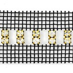SS 20 Machine-cut Rhinestone Banding Trim by Yard, RBD-114