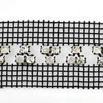 SS 20 Machine-cut Rhinestone Banding Trim by Yard, RBD-115