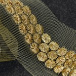 19mm Metallic Sequin and Thread Trim by Yard, SMB-MM1019