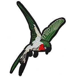 Bird Embroidered Iron-On Applique Patch by PC, TR-11354