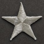 Star Iron-On Applique Patch by PC, PA-IA-T0004