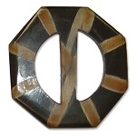 Octagon Horn Buckle, SEA-B4011