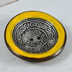 45mm Vintage Bowl shaped Brass Coconut Button by 1pc, MAY-HZB-4569C
