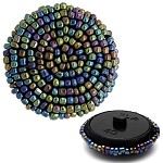 Beaded Button with Shank, CBTN-A140
