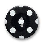 2-Hole Dot Plastic Button by each, DIL-330764/66