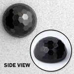 Glass Dome Button with Shank, BEA-185-2045