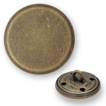 Metal Button with Shank, BEA-20918