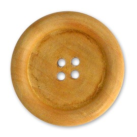 4-Hole Wood Button, MAY-WB7020