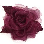 Rose Flower Pin by pc, FL-110