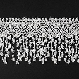 "3-3/8"" Venise Lace Ribbon Trim by yard, TR-11433"