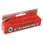 G-S Hypo Cement Precision Applicator Adhesive Glue, 9.75ml