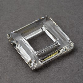 30mm Swarovski Crystal 4439 Square Ring Fancy Stone