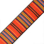 15mm Faux leather double strap Trim by Yard, STEP-4870