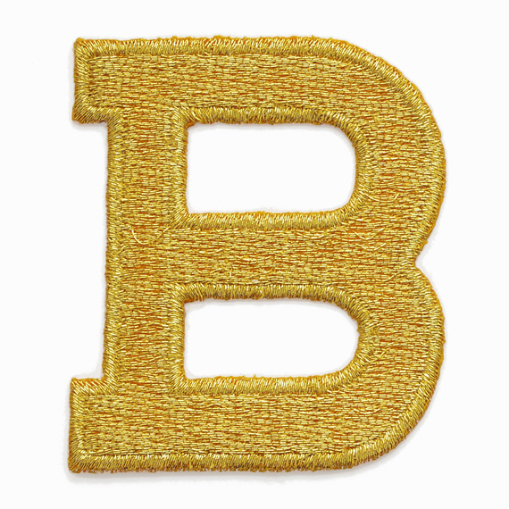 letter appliques iron on gold alphabet letter iron on patch applique 1 quot joyce 8205