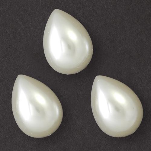Pearl Tear Drop Flatback Beads Prl 2009 Tdrpfb