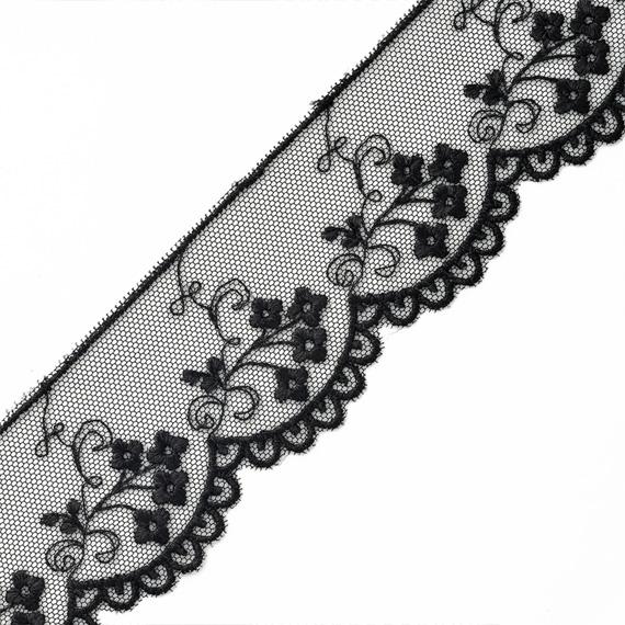 Iron-On Trim 3 Yards. Light Beige /& Metallic Gold Embroidered