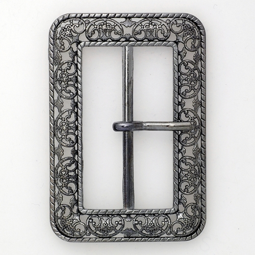 Vintage Metal Filigree Belt Buckle Vintage Fashion Jewelry 2 3 4 Quot X 1 7 8 Quot Tr 11037
