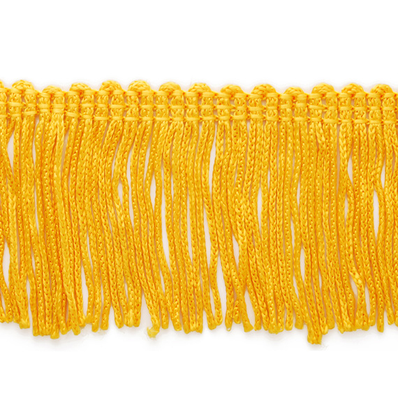 "Antique Gold 8/"" Chainette Fringe Trim Gold By The Yard"