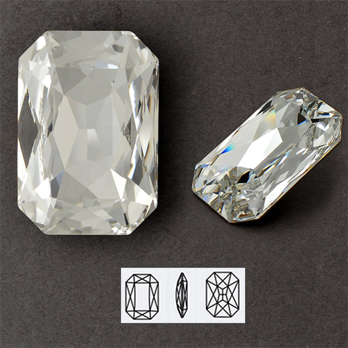 152812afd708 37X25.5mm Swarovski Crystal Rhinestone 4627 Octagon Fancy Stone by each