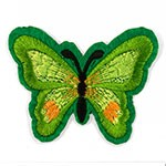 Butterfly Embroidered Iron-On Applique Patch by PC, TR-11447