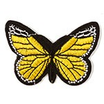 Butterfly Embroidered Iron-On Applique Patch by  PC, TR-11453