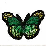 Butterfly Embroidered Iron-On Applique Patch by PC, TR-11462
