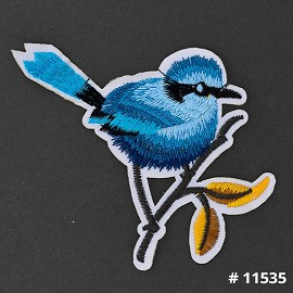Bird Embroidered Iron-On Applique Patch by 1 PC, TR-11535