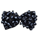 Sequin Beaded Ribbon Bow Applique Patch by PC, MAK-BDGB35