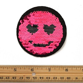 Reversible flip Sequin Patch Applique by PC, TR-11875