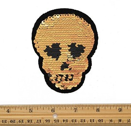 Reversible flip Sequin Patch Applique by PC, TR-11877