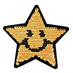 Reversible flip Sequin Patch Applique by PC, TR-11881