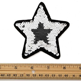 Reversible flip Sequin Patch Applique by PC, TR-11882