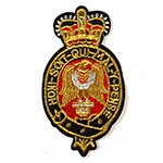 Gold Bullion Embroidered Iron-On Badges, Embroidery Applique Patch by pc, TR-11230