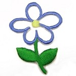Flower Iron-on Applique Patch by PC, PA-IA-T03978
