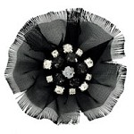 Rhinestone Flower Applique Patch by PC, TR-10822