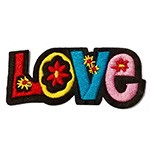 Love Embroidered Iron-On Applique Patch by PC, TR-11313